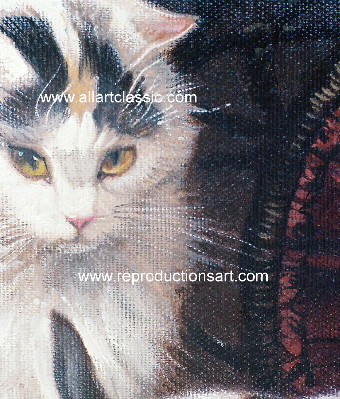 Oil Painting Reproductions Henriette Ronner Knip Paintings