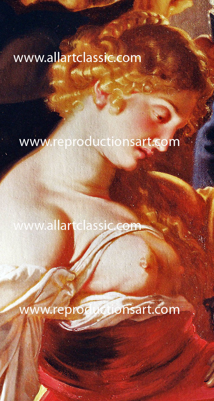Art Reproductions Rubens-hand-painted-oil_C. Our Oil Painting Reproduction -Zoom Details