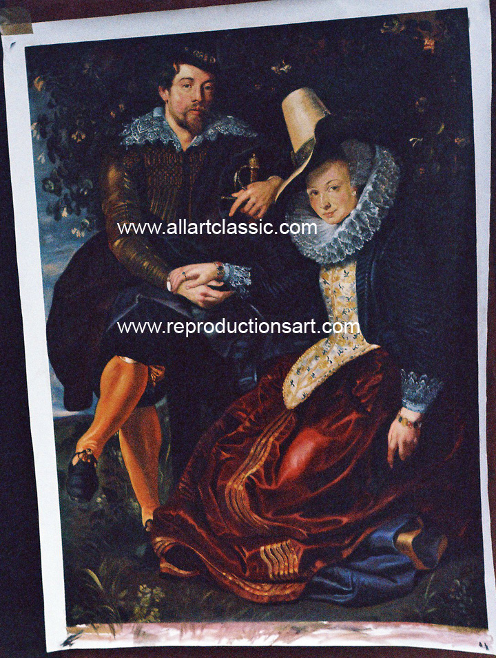 Rubens Painting Work sample