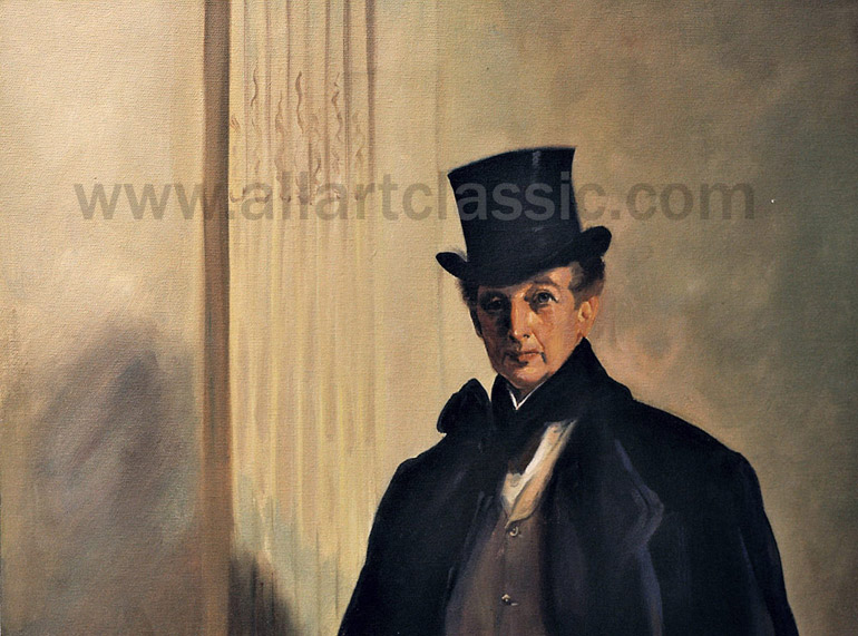 Art Reproductions SAJ071N_C. Our Oil Painting Reproduction -Zoom Details