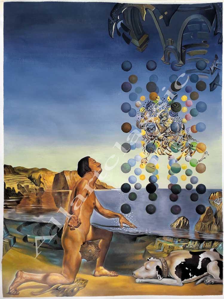 Salvador Dali Painting Work sample