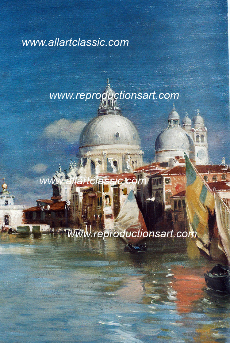 Art Reproductions Santoro-paintings_001N_A. Our Oil Painting Reproduction -Zoom Details