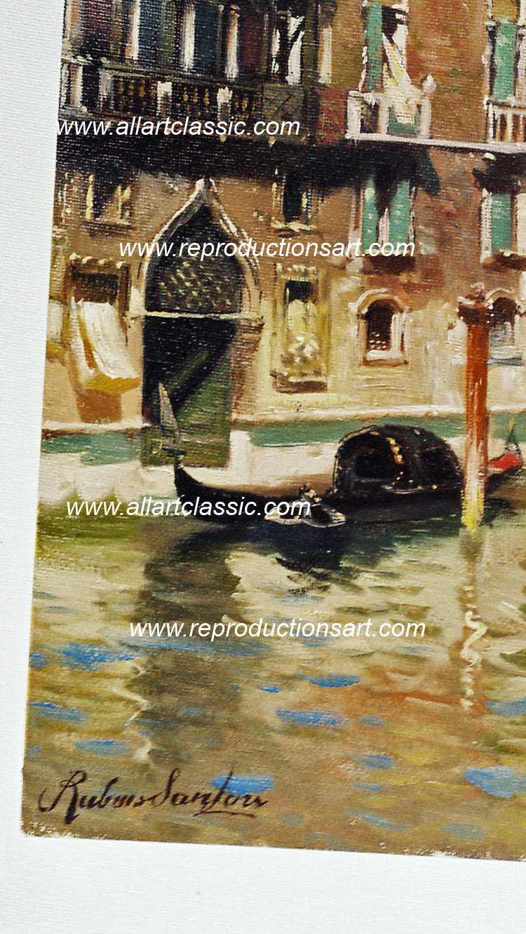 Oil Painting Reproductions Santoro Paintings