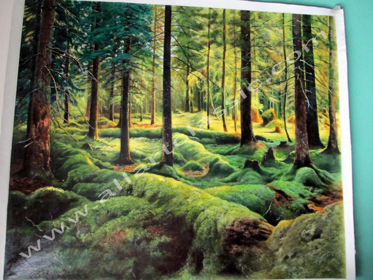 Oil Painting Reproductions of Ivan Shishkin Painting