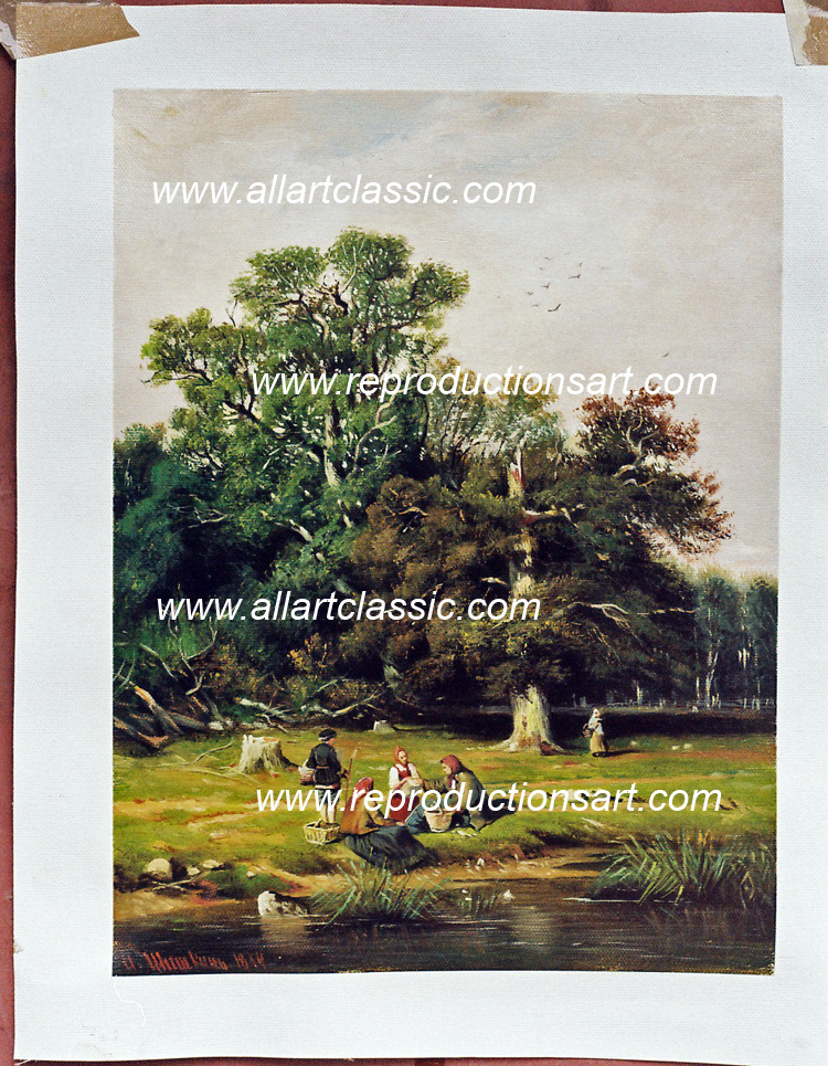 Oil Painting Reproductions of Shishkin oil painting