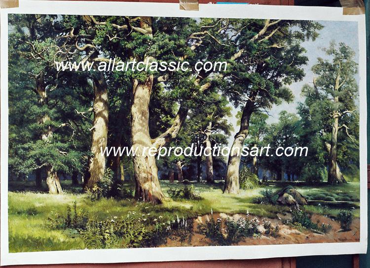 Shishkin Painting Work sample