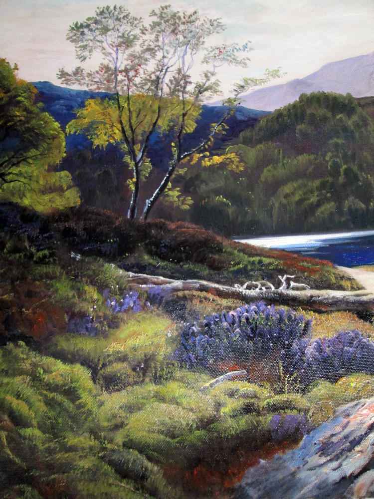 Art Reproductions Sidney_Richard_Percy_L_C. Our Oil Painting Reproduction -Zoom Details