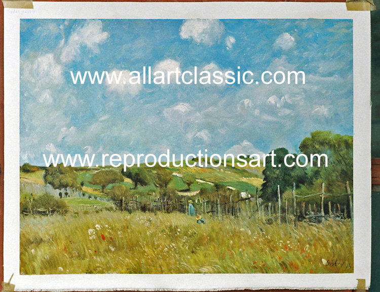 Oil Painting Reproductions of Alfred Sisley Paintings Reproductions