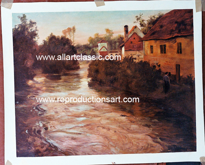 Frits Thaulow Painting Work sample