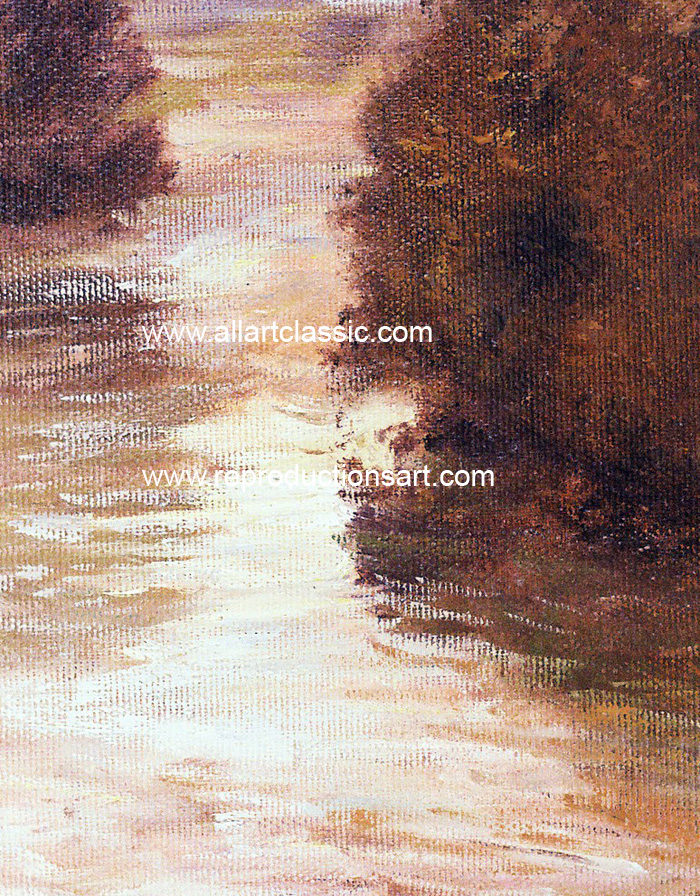 Oil Painting Reproductions Thaulow Paintings