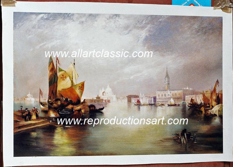 Thomas Moran Painting Work sample