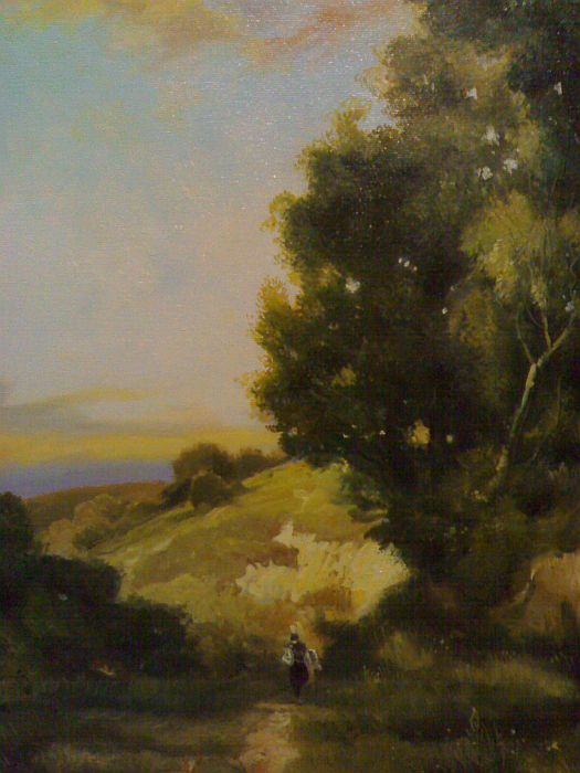 Oil Painting Reproductions Thomas Moran Paintings Reproductions
