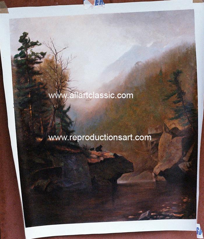 Wyant Painting Work sample