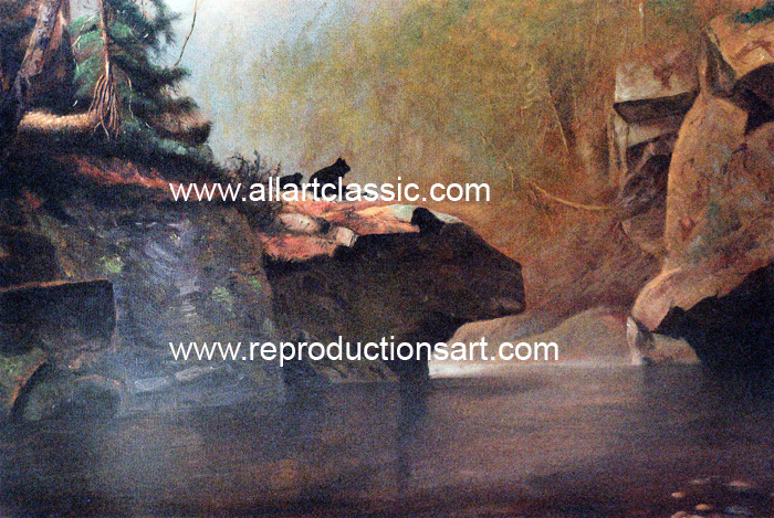 Oil Painting Reproductions Alexander Helwig Wyant