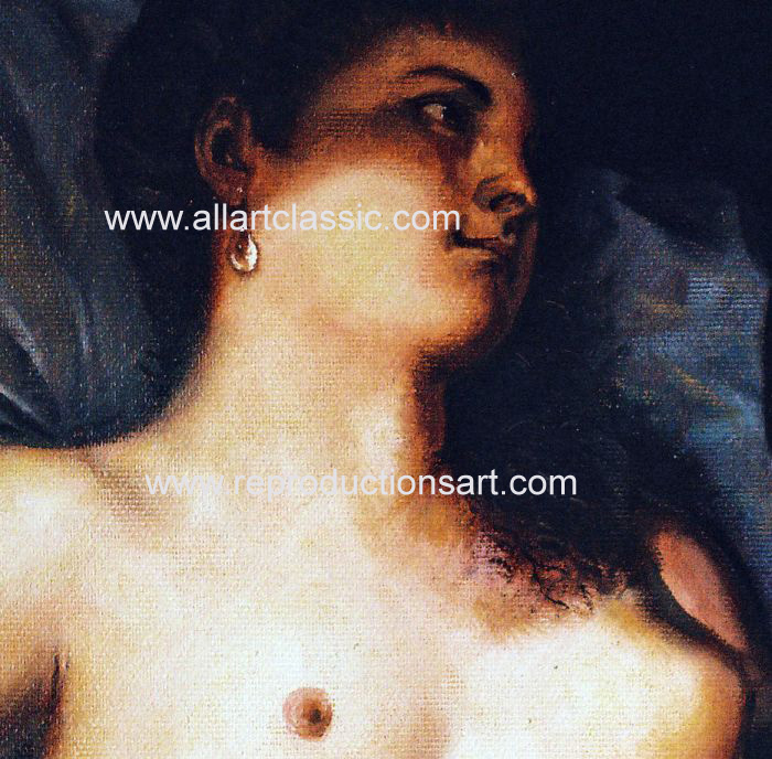 Art Reproductions Titian_002N_A. Our Oil Painting Reproduction -Zoom Details