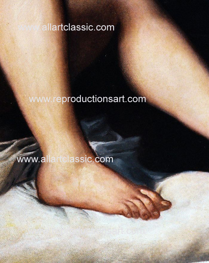 Art Reproductions Titian_002N_D. Our Oil Painting Reproduction -Zoom Details