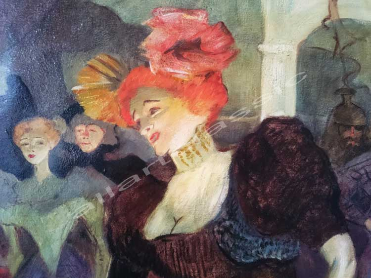 Toulouse-Lautrec Painting Work sample