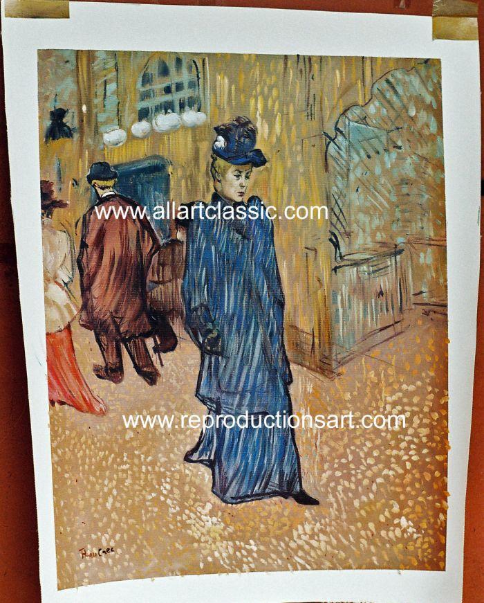 Reproductions henri de toulouse lautrec paintings for Toulouse lautrec works