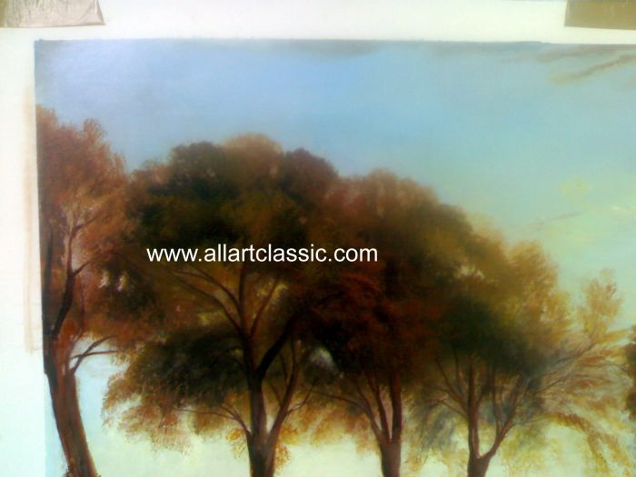 Art Reproductions Turner_Paintings_001N_A. Our Oil Painting Reproduction -Zoom Details