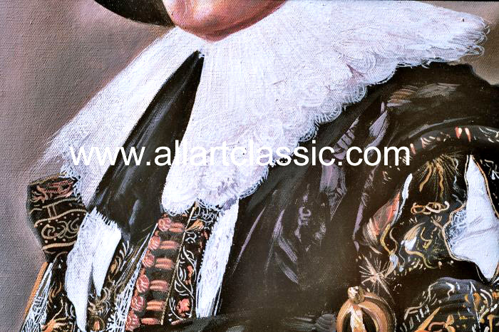 Oil Painting Reproductions Frans Hals