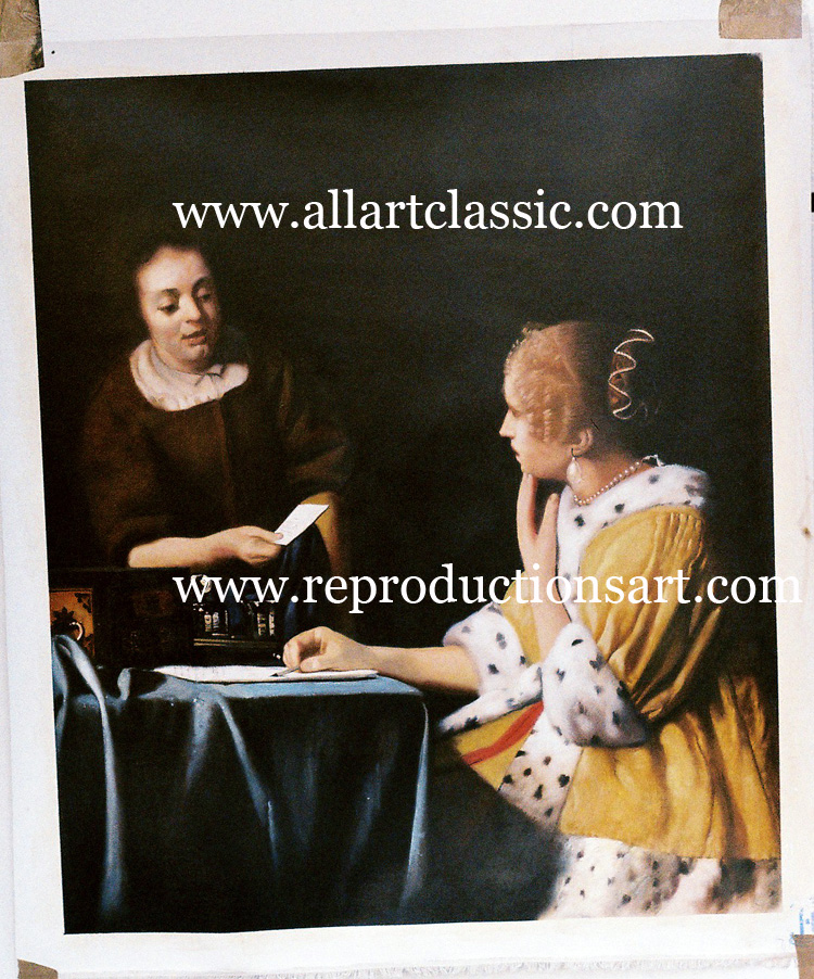 Oil Painting Reproductions of Johannes Vermeer Paintings