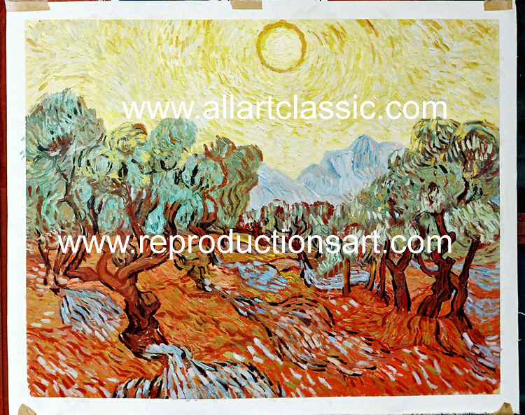 Oil Painting Reproductions of Vincent van Gogh Paintings Reproductions