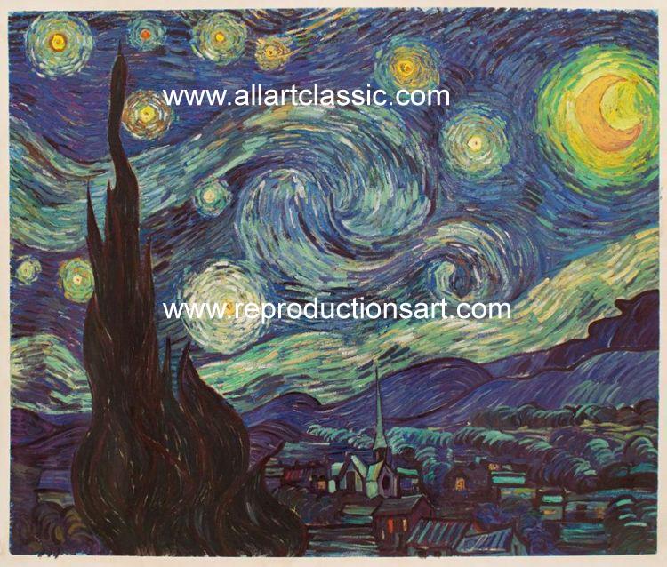 Vincent Van Gogh Painting Worksample
