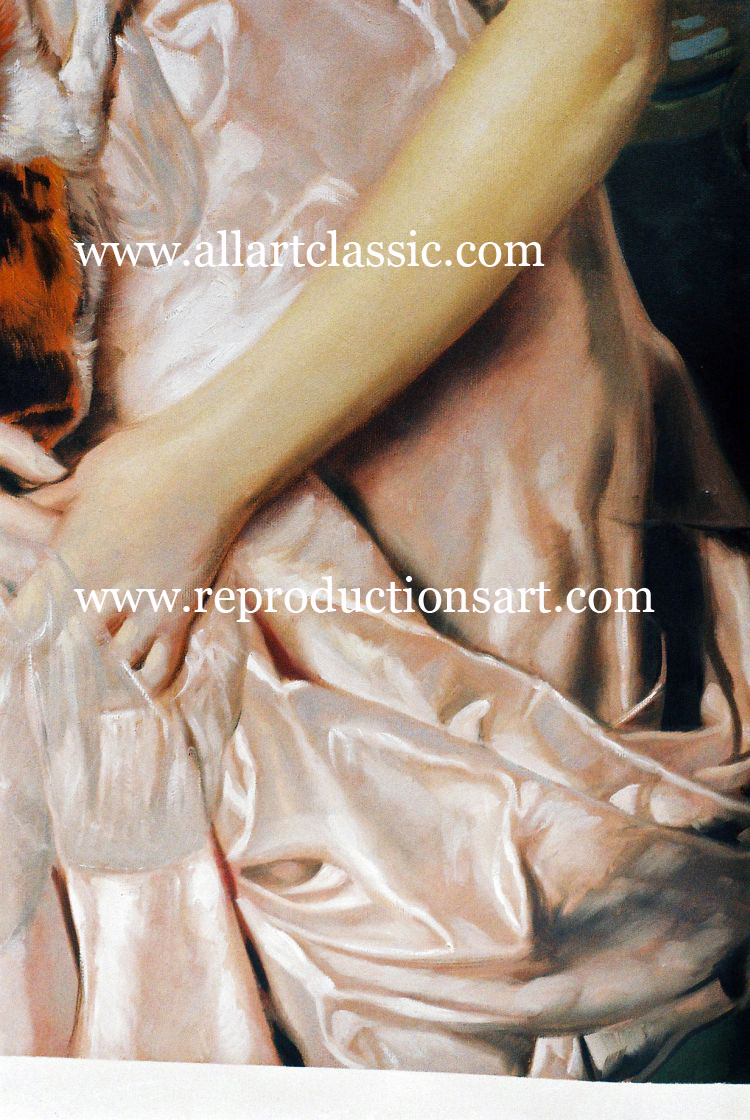 Art Reproductions Vittorio-Corcos-painting_B. Our Oil Painting Reproduction -Zoom Details