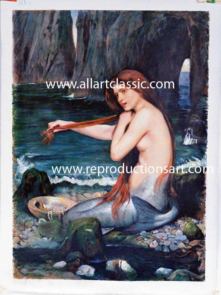 Waterhouse Painting Work sample