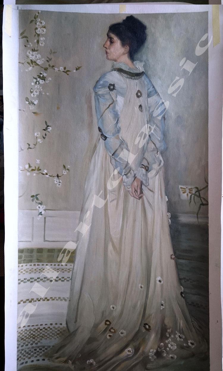 Whistler Painting Work sample