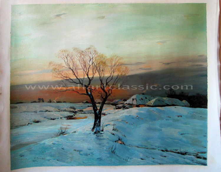 Nikolay Nikanorovich Dubovskoy Painting Work sample