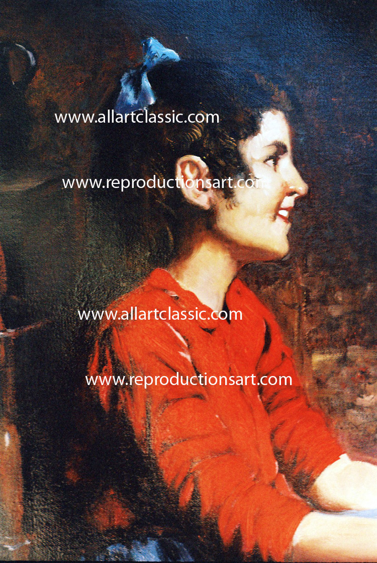 Oil Painting Reproductions Eugenio Zampighi