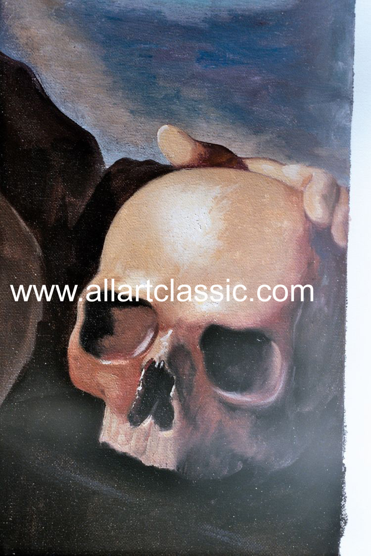 Art Reproductions Zurbaran_001N_C. Our Oil Painting Reproduction -Zoom Details