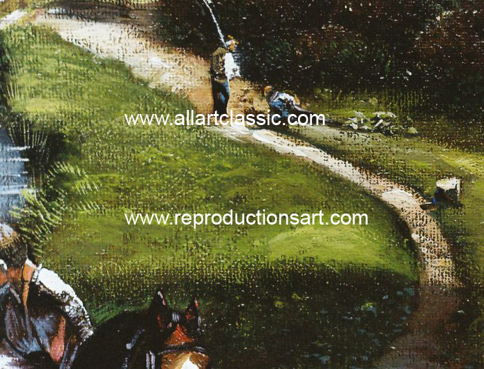 Art Reproductions constable_mill_001N_B. Our Oil Painting Reproduction -Zoom Details