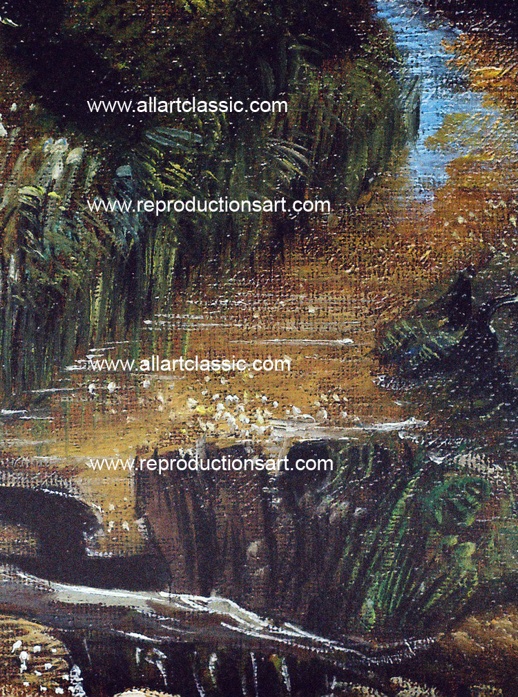 Art Reproductions constable_mill_001N_C. Our Oil Painting Reproduction -Zoom Details