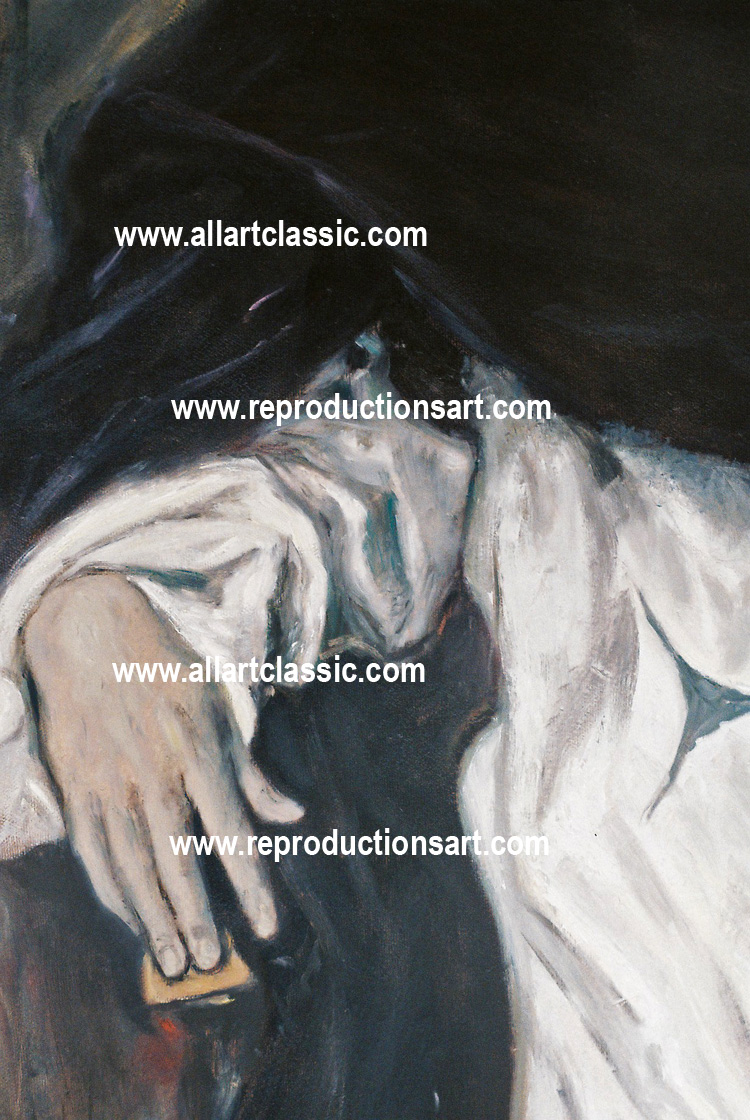 Art Reproductions el-greco-painting_B. Our Oil Painting Reproduction -Zoom Details