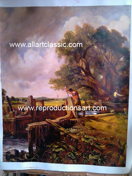 John Constable Painting Work sample