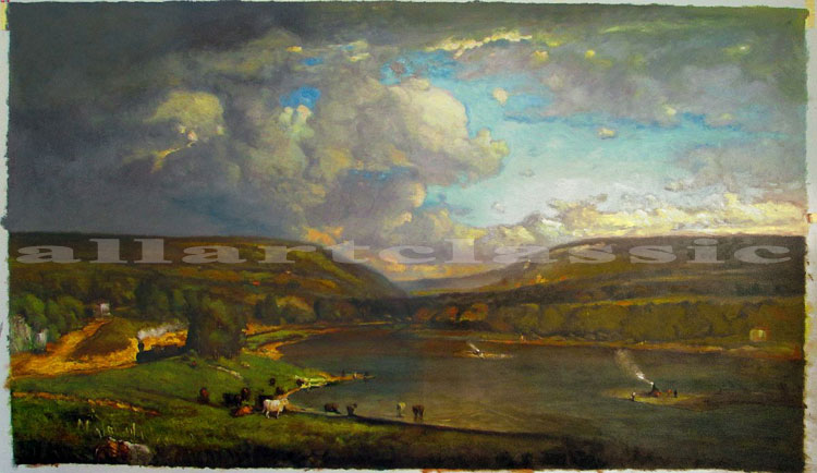 George Inness Painting Work sample