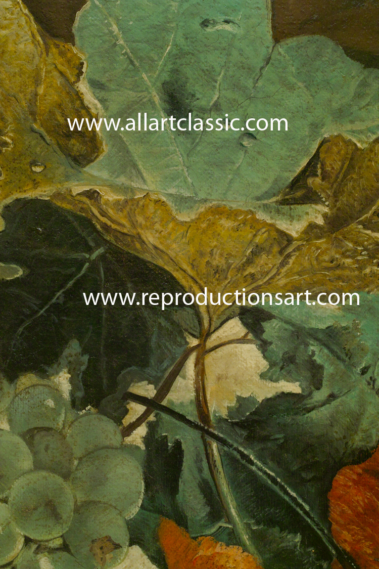Art Reproductions oil-painting-reproduction-flower_C. Our Oil Painting Reproduction -Zoom Details