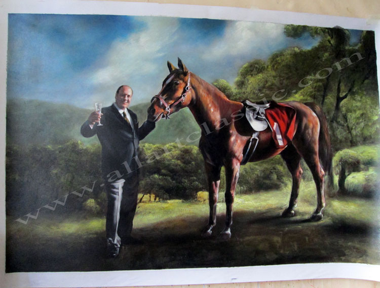 Oil Painting Reproductions of Custom Painting