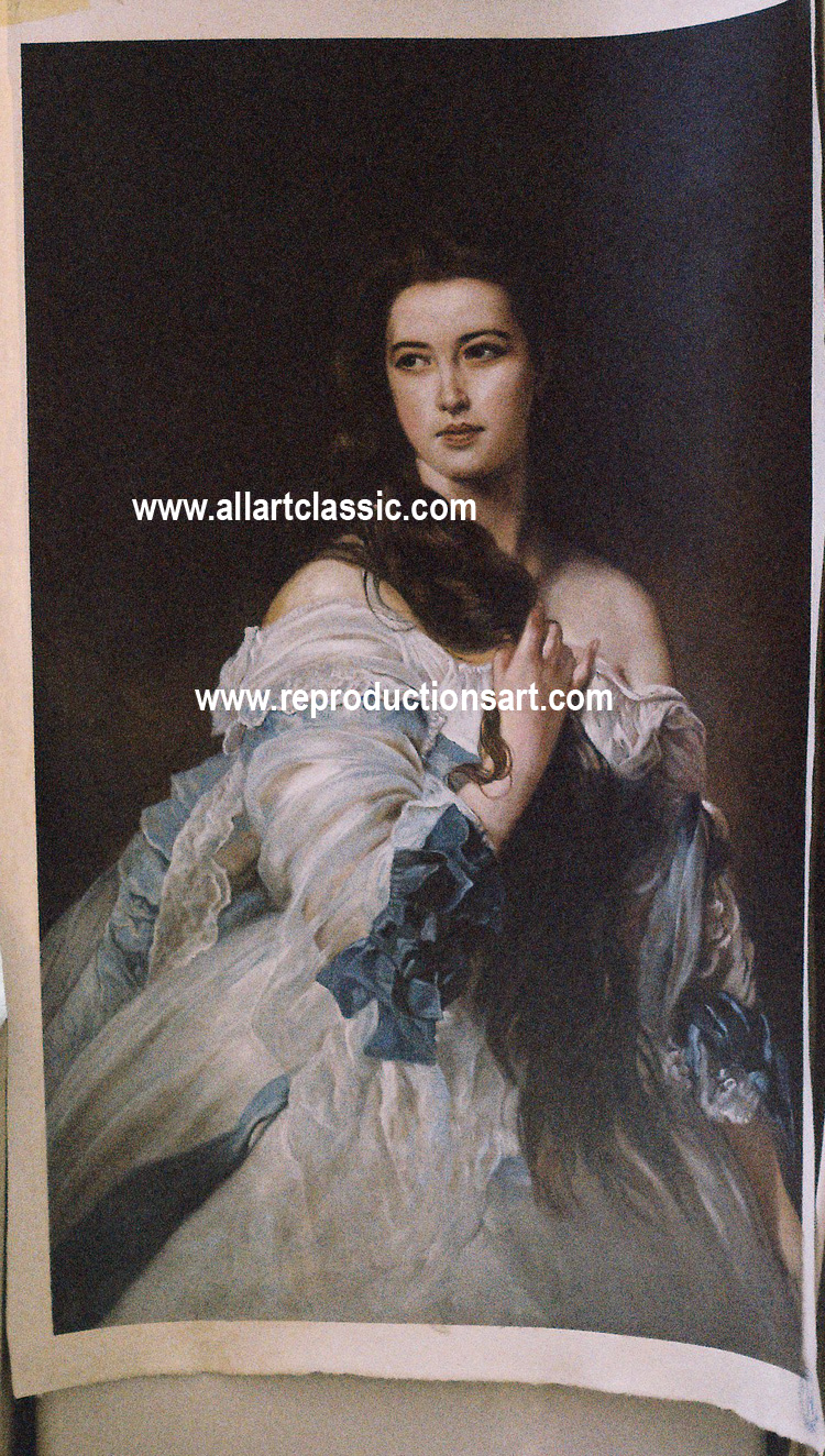 Franz Xavier Winterhalter Painting Work sample