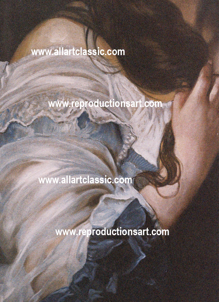 Art Reproductions winterhalter-painting_B. Our Oil Painting Reproduction -Zoom Details